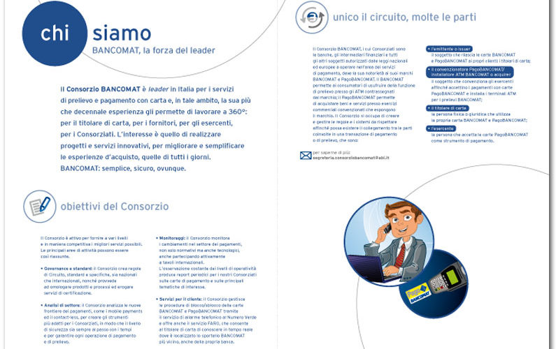 Consorzio Bancomat  Brochure