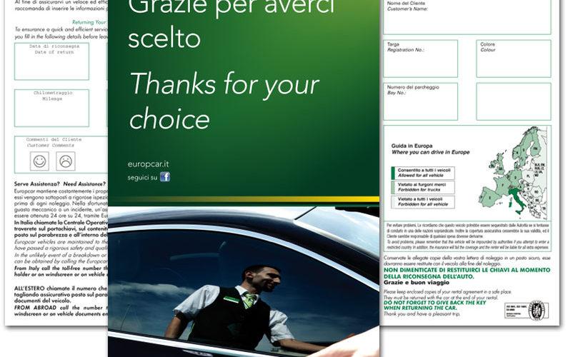 Europcar Italia Flyer