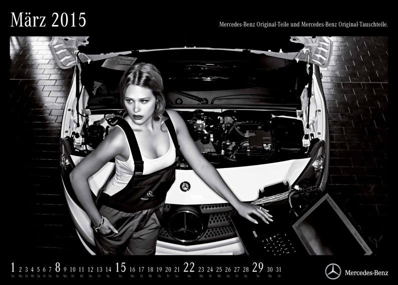 Daimler AG  Calendario After Sales